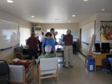 Main observatory equipment room