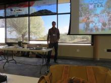 Adam Beardsley from Arizona State University